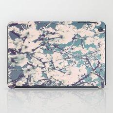 spring mediterranean almond flowers iPad Case
