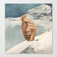 Muh Anne Inn Tha Mount Tan Canvas Print