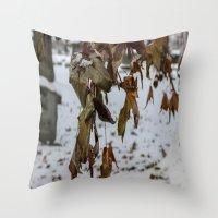 Overhang Throw Pillow