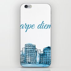 Carpe Diem iPhone & iPod Skin
