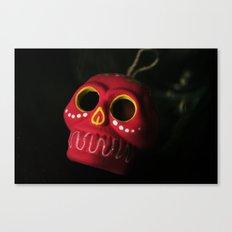 Mexo Skull Canvas Print