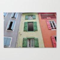 Foix, France Canvas Print