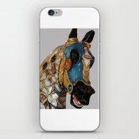 Carousel Horse 2 iPhone & iPod Skin