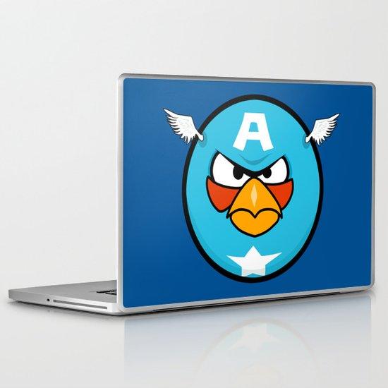 Captain Angry Laptop & iPad Skin