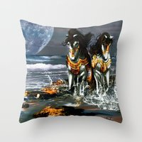 TWO IN ONE SHADOW Throw Pillow