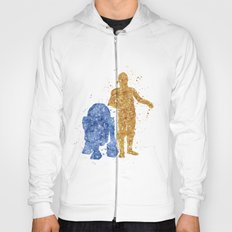 C3PO And R2D2 Star . War… Hoody