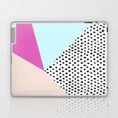 Polka dot rain geometric Laptop & iPad Skin