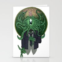 Eye of Cthulhu Stationery Cards