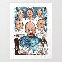 Breaking Bad: The Good, … Art Print