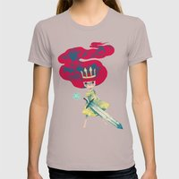 Aurora Womens Fitted Tee Cinder SMALL