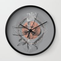Faint  Wall Clock