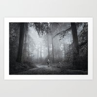 Seeking Silence Art Print