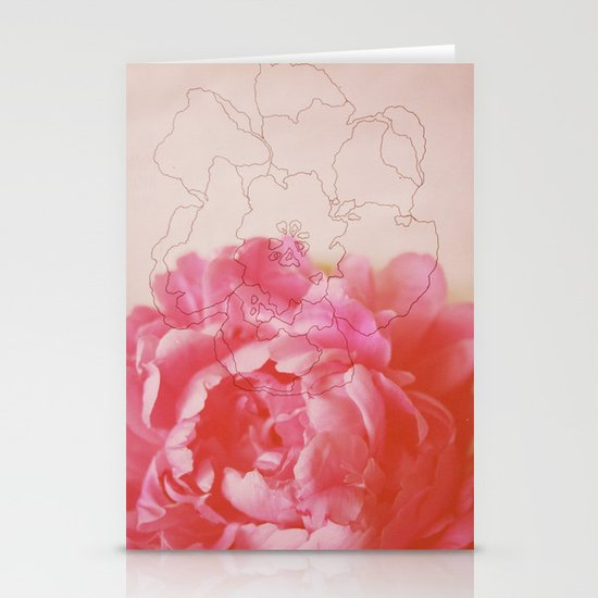 pink milk Stationery Card