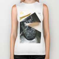 Untitled (Painted Composition 12) Biker Tank