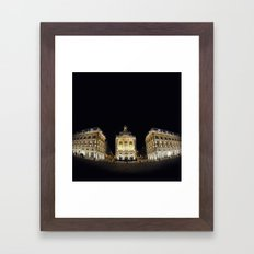 Bordeaux la nuit Framed Art Print
