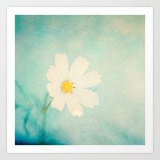 Pretty flowers. Art Print