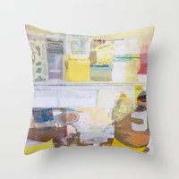 Starving Artist (J.K) Throw Pillow