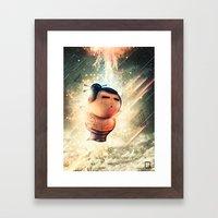 Rise of Sumo Framed Art Print