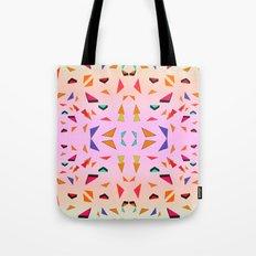 Triangle Tropical Confetti  Tote Bag