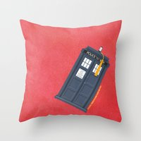 11th Doctor - DOCTOR WHO Throw Pillow