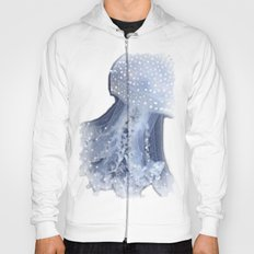 🔵 Blue Denim Mosaic Jellyfish Hoody