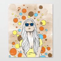 Feeling Bubbly Canvas Print