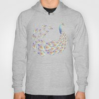 white peacock Hoody