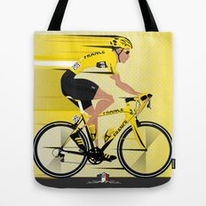 France Yellow Jersey Tote Bag