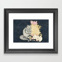 Big Bad Wolf Only Needed… Framed Art Print