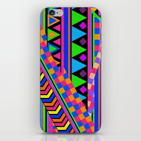 NEON iPhone & iPod Skin