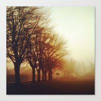 Canvas Print featuring Fog by Love_in_her_eye