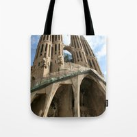 Work in Progress (La Sagrada Familia) Tote Bag