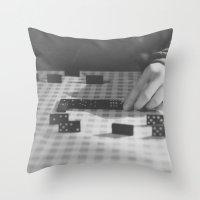 domino Throw Pillow