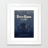 Steve Gunn + Ocellot Framed Art Print