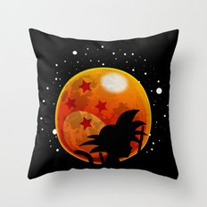 The Moon Child Throw Pillow