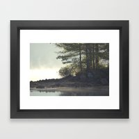 Warm Waters Framed Art Print
