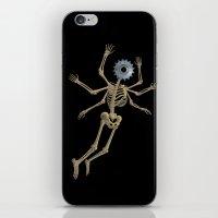 GEAR HEAD SKELETON iPhone & iPod Skin