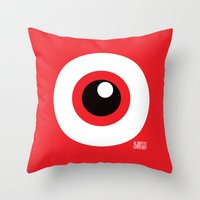 EYE SEE Throw Pillow