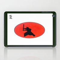 Japanese Bushido Way Of The Warrior iPad Case