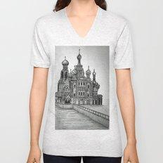St. Petersburg, Russia Unisex V-Neck