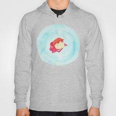 Ponyo Watercolor Hoody