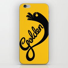 Golden! iPhone & iPod Skin