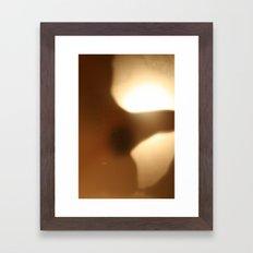 'Untitled 7' - Body language series. Framed Art Print