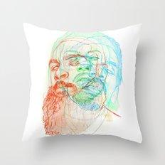 The Glorious Dead Throw Pillow