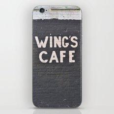 wings cafe iPhone & iPod Skin