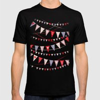 Hate card Mens Fitted Tee Black SMALL