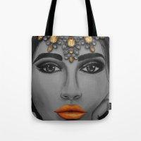 Tangerine Sky Goddess - by Ashley-Rose Standish Tote Bag