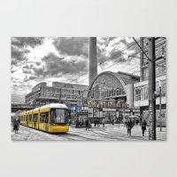 Berlin Alexanderplatz Canvas Print