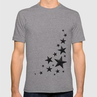 urban stellar Mens Fitted Tee Athletic Grey SMALL