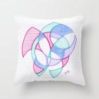 Cirque-Cle #5 Throw Pillow
